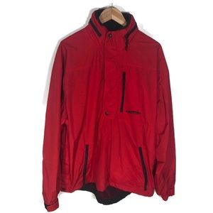 Ralph Lauren Polo Sport Red Pullover Anorak